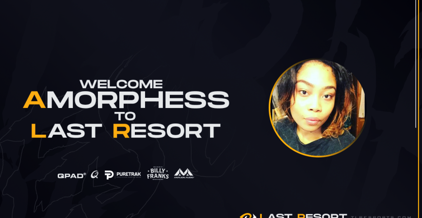 TLR Welcomes Content & Community Manager Amorphess