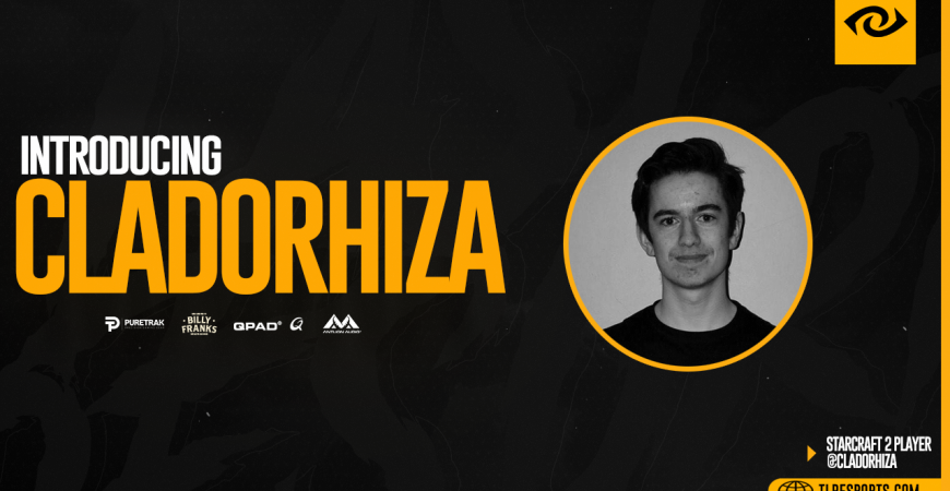 TLR Welcomes New StarCraft 2 Player Cladorhiza